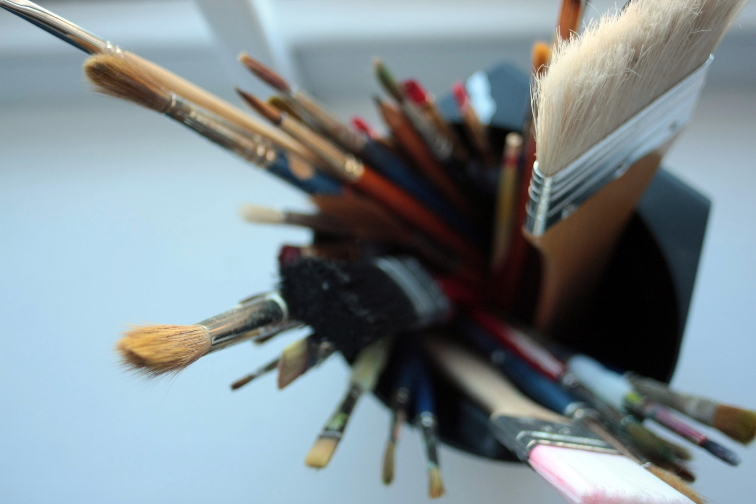 SPACE Colchester Creative Practitioner Support Programme (paint brushes)