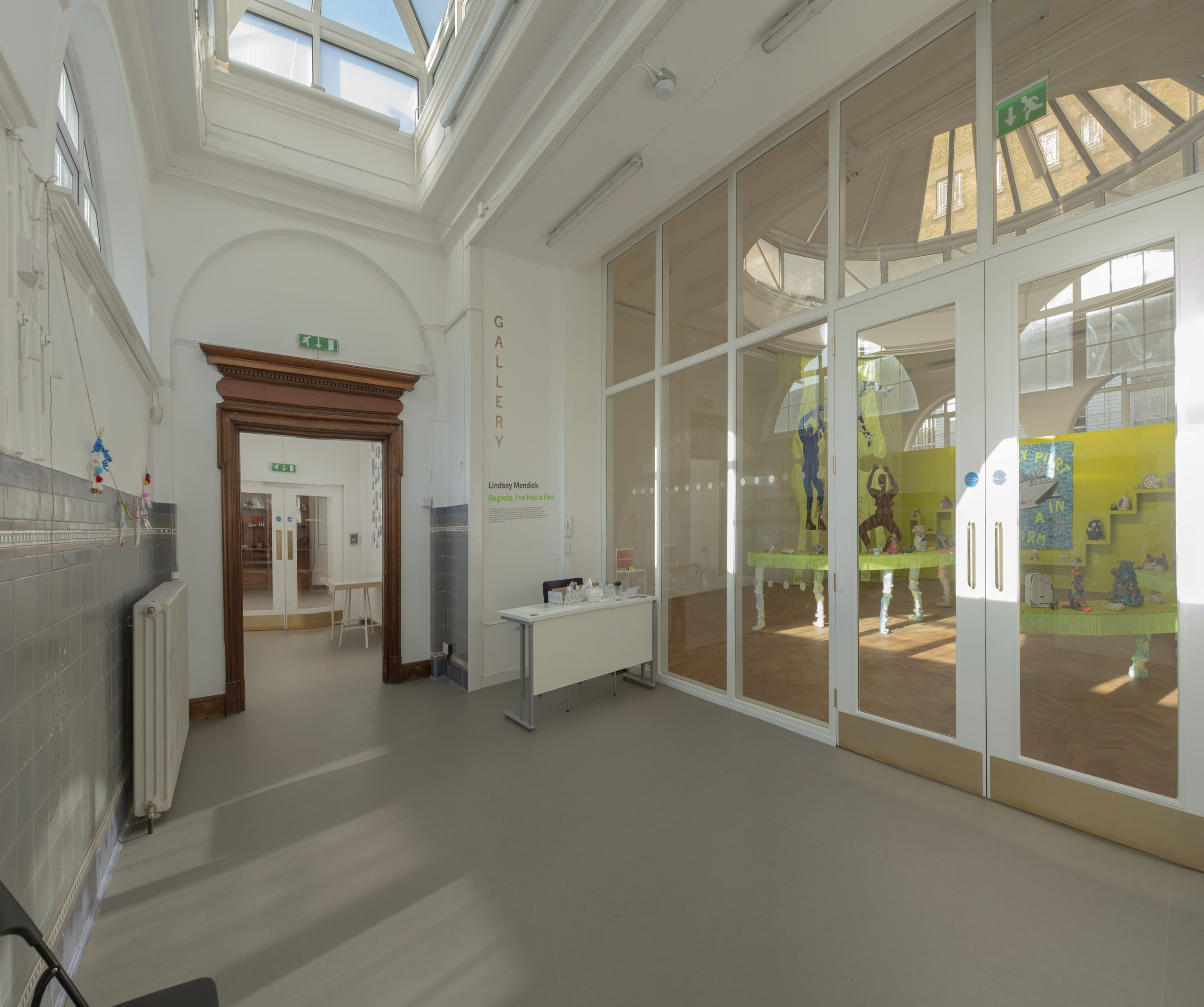 SPACE Ilford Gallery foyer interior